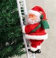 Электрический Санта-Клаус, скалолазающая лестница, Рождественское украшение, подвесная елка, рождественские украшения, игрушки, новогодни...