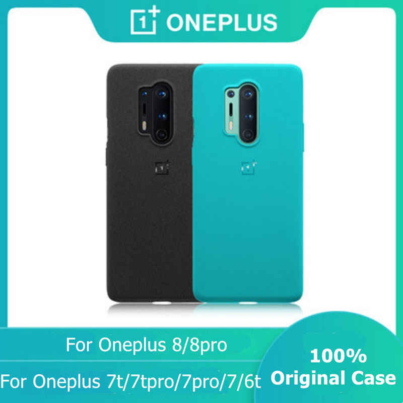 100 Official Bumper Case For Oneplus 7 8 Pro 8t Sandstone Nylon Carbon Karbon Bumper Orginal Transparent Clear Back Cover Fitted Cases Aliexpress