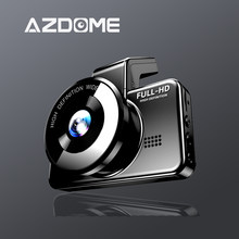 AZDOME M17 Dash Cam 1080P HD Carro DVR 24H Monitor de Estacionamento DVR Visão Noturna Noturna Wifi Original Câmera para Carro Dashcam Dual Lens