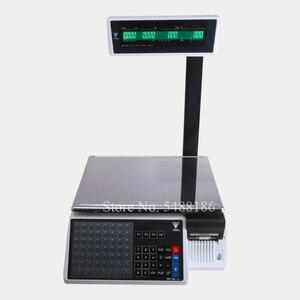 Equilíbrio digital sm110 da escala de impressão da etiqueta de digi SM-110 para supermercados deli varejistas de carne sm110p equilíbrio de impressão da etiqueta