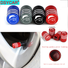 4Pcs/Set Universal Santa Claus Alu-alloy Tire Valve Caps for Car Truck Motorcycle Bicycle Stem Cover Accessories