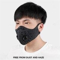 N95 tabletas de filtro de carbón activado máscara lavable anticontaminación máscara de entrenamiento deportivo PM2.5 máscara para correr gran oferta