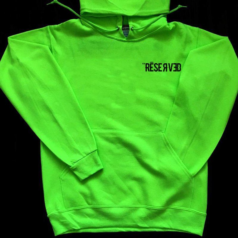 Reserved Hoodie Billie Eilish Sweatshirt Women Men Bad Guy Hoodies Hip Hop Long Sleeve Streetwear Sweatshirt With Hood Pullover