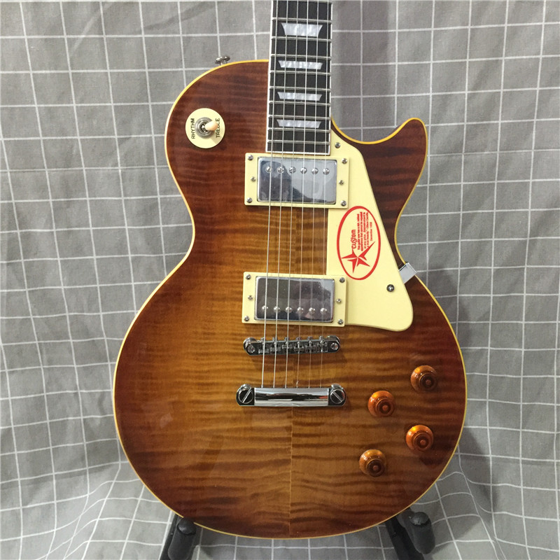 Cherry Burst Electric Aliexpress Guitars