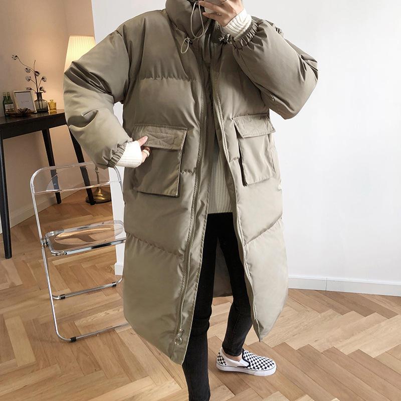 Nouvelle veste d'hiver femmes vêtements Parkas manteau rembourré en vrac chaud épaissir vers le bas coton manteau femme surdimensionné hiver manteau femmes Q2215