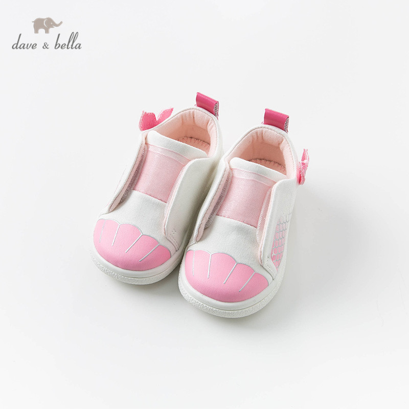 DB13737 Dave Bella Spring Baby Girl Casual Shoes Shoes New Born  Lovely Pink Shoes