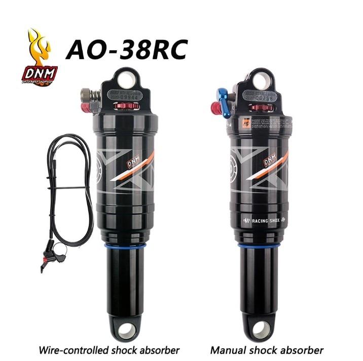 DNM/AO-38RC/AOY-36R горный велосипед задний амортизатор 165/190/200/210 мм MTB горный велосипед катушки Задний амортизатор провода ontrol/ручной Управление