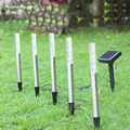 1 шт. с 5 трубками солнечный светильник для сада Открытый трубчатый аэратор светящиеся палки Солнечный акриловый водонепроницаемый Солнечн...