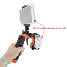 Scuba กล้อง Handheld Tripod Mount Clamp โทรศัพท์ Selfie ชัตเตอร์ Trigger ใต้น้ำดำน้ำอุปกรณ์เสริม Buoyancy Stick สำหรับ GoPro