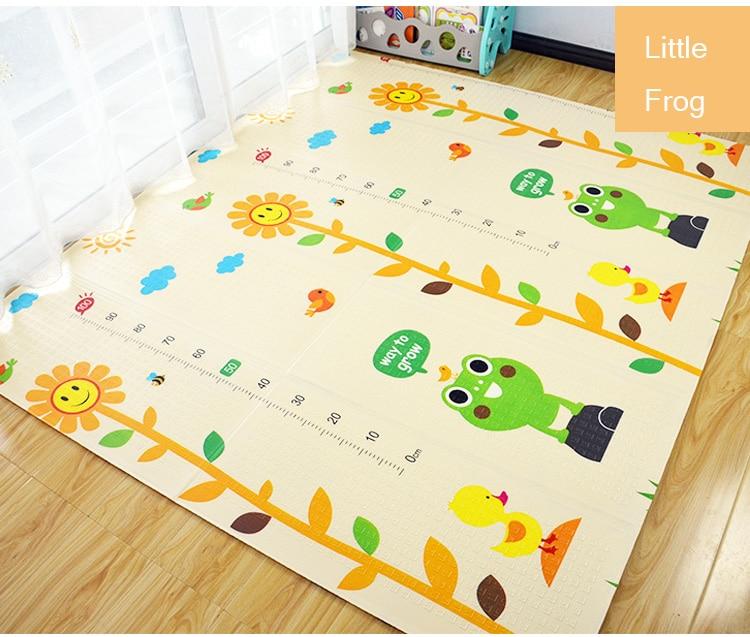 He252b3d1bd174069a416171fe09245abl XPE Environmentally Friendly Thick Baby Crawling Play mat Folding Mat Carpet Play Mat For Children's Mat Kid Rug Playmat
