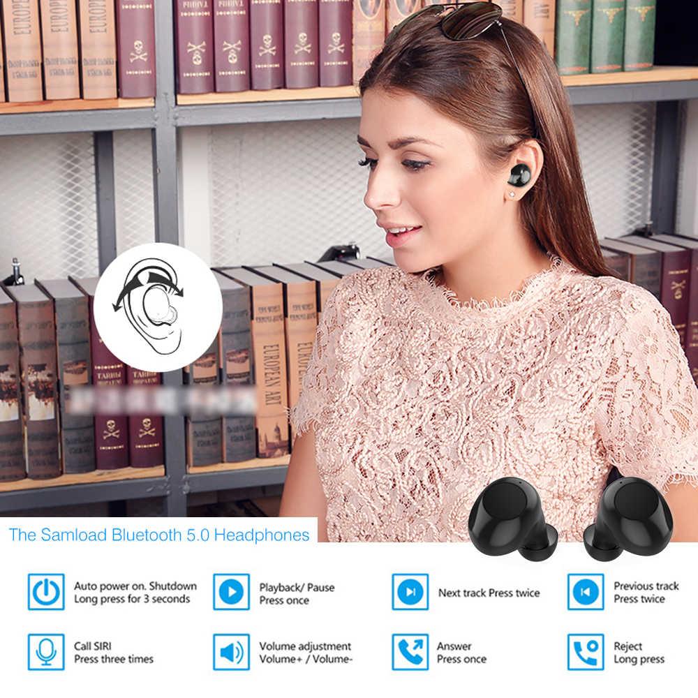 REDANT A8 TWS Bluetooth イヤホン真ワイヤレスイヤフォン 8 時間音楽の bluetooth 5.0 ワイヤレスイヤホン防水スポーツイヤホン