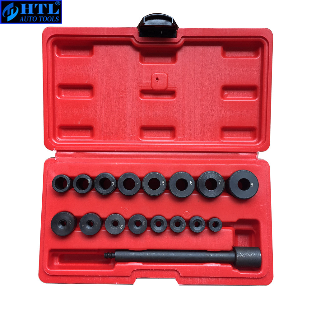 Clutch Tool Kit 17pcs Universal Centring Mandrel Clutch Tool Kit Clutch Installing Tool Coupling Spine Set