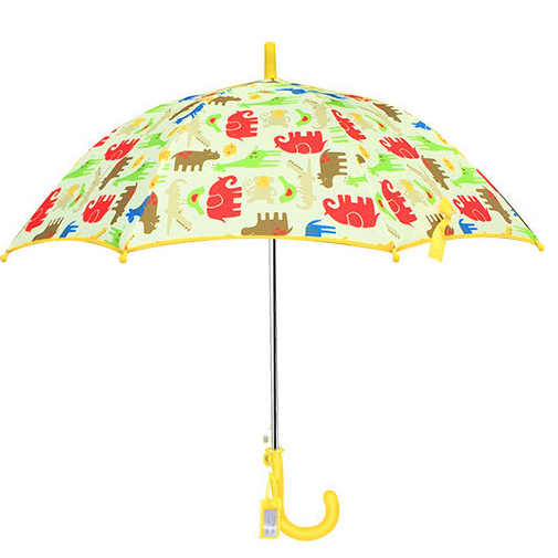 <font><b>Umbrella</b></font> Kids Long <font><b>Golf</b></font> <font><b>Umbrella</b></font> Automatic <font><b>Windproof</b></font> Poncho Cute Cartoon Animal Rain <font><b>Umbrellas</b></font> For Girls Boys Children Rain Gear image