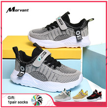 Kids Shoes Non-slip wear-resistant Boys Sneakers Flying Wove