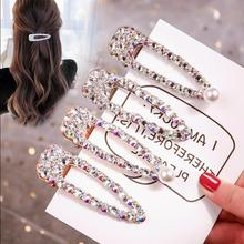 цена на Hair Pins Beauty Forever Hair Handmade Crystal Hair Jewelry Stick for Women Girls Hair Clip Barrette Hair Accessories Dropship