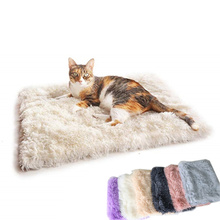 Blanket Cat Dogs-Mattress Deep-Sleeping-Cover Plush Fluffy Small Soft Pet-Dog Large Warm