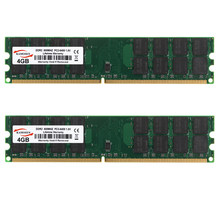 8GB 2X 4GB PC2-6400 DDR2-800MHZ 240pin AMD Desktop Memory Ram 1.8V SDRAM only for AMD not for INTEL System