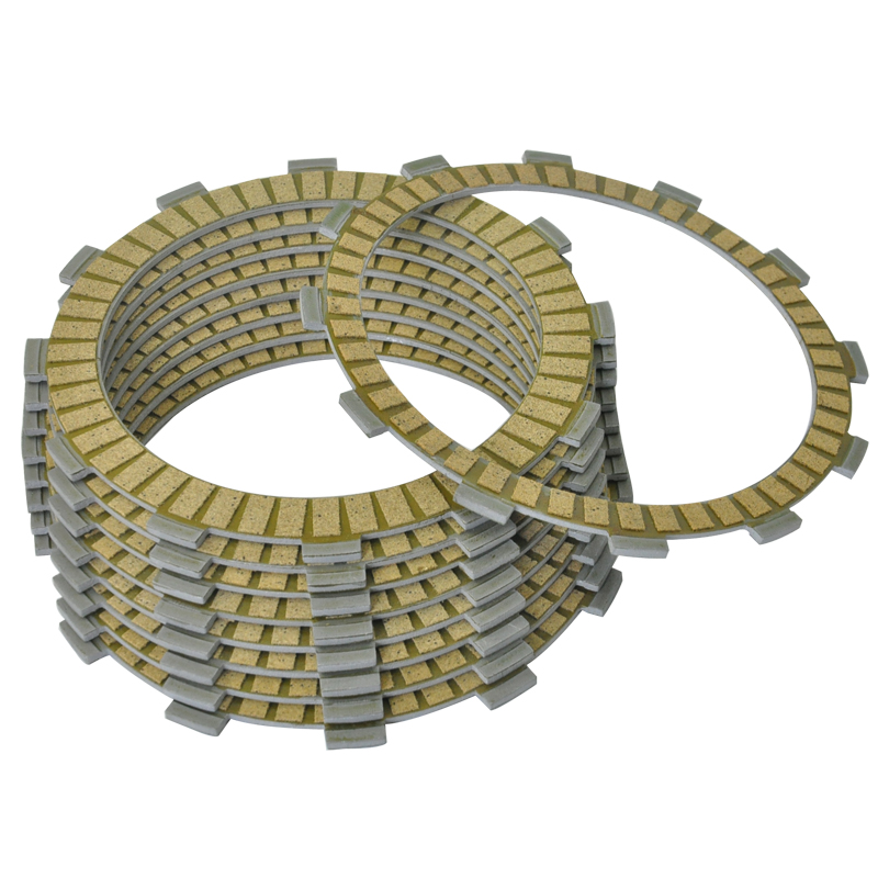 10pc Motorcycle Clutch Plates kit for <font><b>GL1500</b></font> Gold Wing Aspencade Interstate GL1500SE 1988-1996 image