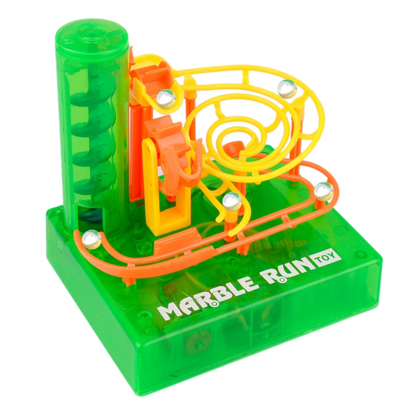 Electric Track Ball Toy Science And Education DIY Children Early Education Maze Track
