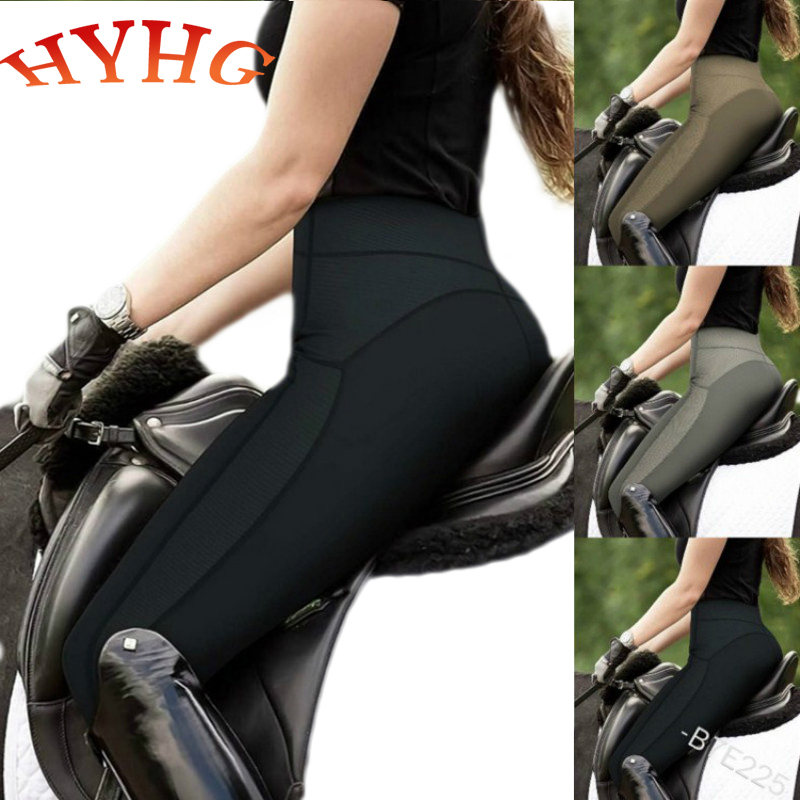 HYHG Women's Breeches Horse Riding Pants Equestrian Clothing Stretch Comfortable Racing Breeches Wearable Riding Equipment