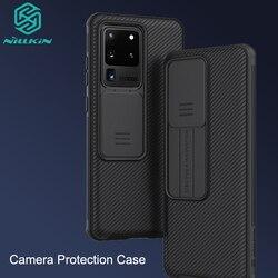 Perlindungan Kamera Case untuk Samsung Galaxy S20 /Plus /Ultra NILLKIN Slide Melindungi Penutup Lensa Perlindungan Case untuk Samsung s20