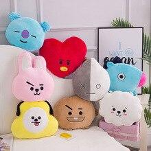 30cm Bangtan Kpop Start Cute Animal Stuffed Toys Plush Pillow  Heart Dog Koala Horse Sheep Rabbit Peluche Army Bomb