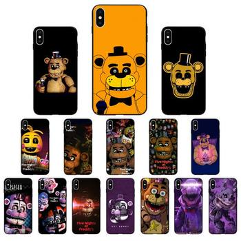 YNDFCNB five nights at freddy's fnaf freddy Phone Case for iphone 11 Pro Max X XS MAX 6 6s 7 8 Plus 5 5S 5SE XR SE2020 image