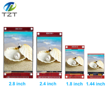 1,44/1,77/1,8/2,2/2,4/2,8 дюймов TFT Цвет Экран ЖК-дисплей Дисплей модуль привода ST7735 ILI9225 ILI9341 Интерфейс SPI 128*128 240*320