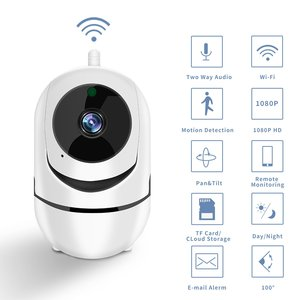 Smart Wifi Camera HD 1080P Cloud Wireless IP Camera Intelligent Auto Tracking Of Human Home Security Surveillance
