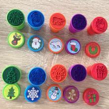 10Pcs Kids Seal DIY Painting Children Toy Cartoon Animals Scrapbooking Stamper Photo Album Decor Cute Kindergarten Supplies
