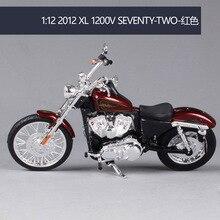 Model-Toys Toys-Collection Maisto Seventy-Two Motorcycle Harley-Davidson 1200V Metal