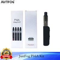 JUSTFOG-Juego de cigarrillos electrónicos P16A Original, Kit de iniciación, vaporizador, batería de 900mAh, tanque de 2ml, VS Q16