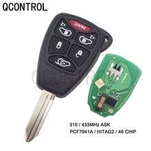 QCONTROL مفتاح بعيد ل دودج سيارة Magnum جراند قافلة دورانجو عيار شاحن المنتقم رام نيترو داكوتا إنذار ID46 رقاقة
