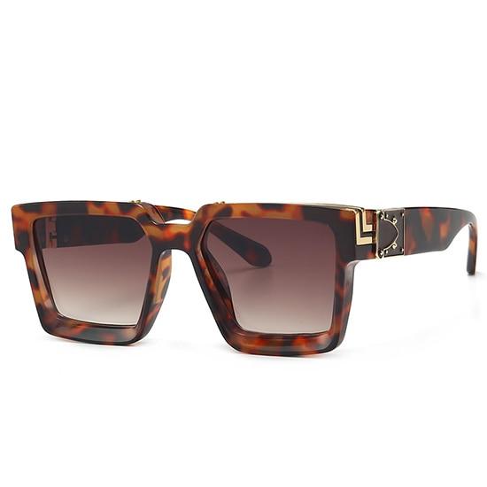 Retro Square Sunglasses Women Ins Popular Sun Glasses Men UV400 11