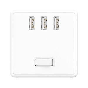 Image 2 - ใหม่ Xiaomi Mijia 2 In 1 Magic Cube USB Power Strip Adapter 6พอร์ต Socket Converter Mini Travel Socket ปลั๊ก Strip