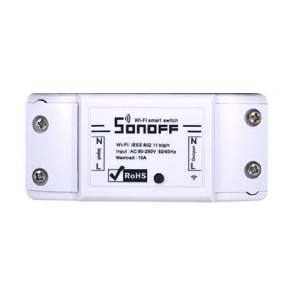 For Sonoff basic WIFI Smart Home Automation Relay Module Controller Temperature And Humidity Controller image