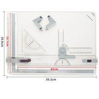 Professionelle A3 Zeichnung Tabelle Technische Bord mit Zeichnung Kopf Maschine Ausarbeitung Liefert GY88 -