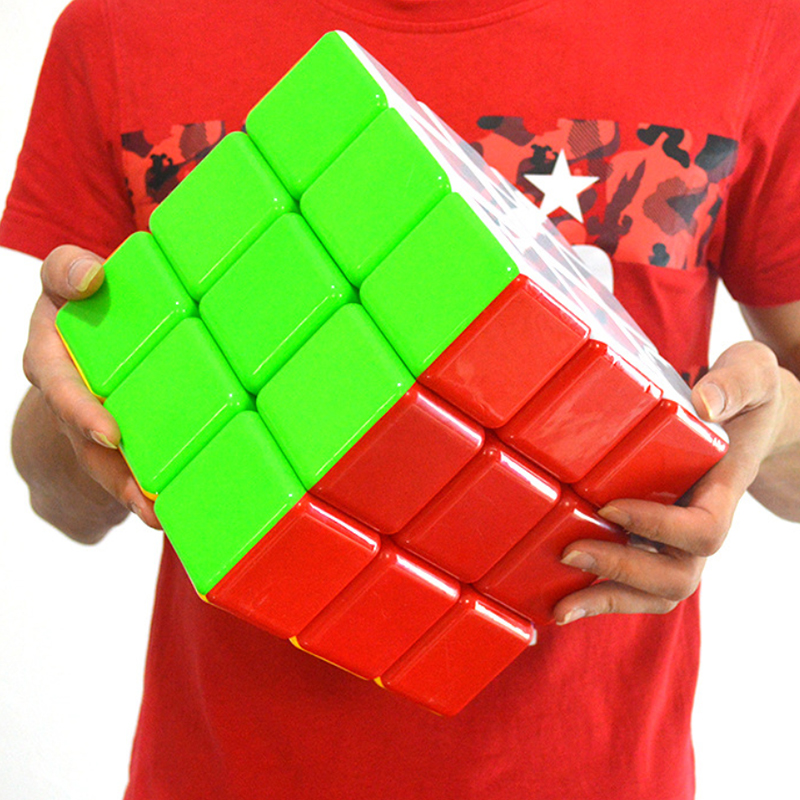 18cm Super Large Creativity Magic Puzzle 3x3x3 Speed Cube Mathematical Third-order Quick Twist Magic Cube Learning Toys For Kids