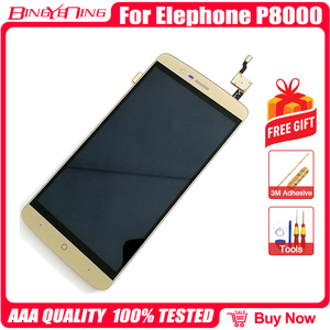 Image 3 - BingYeNing New Original For Elephone P8000 Touch Screen +  LCD Display+Frame Assembly Replacement