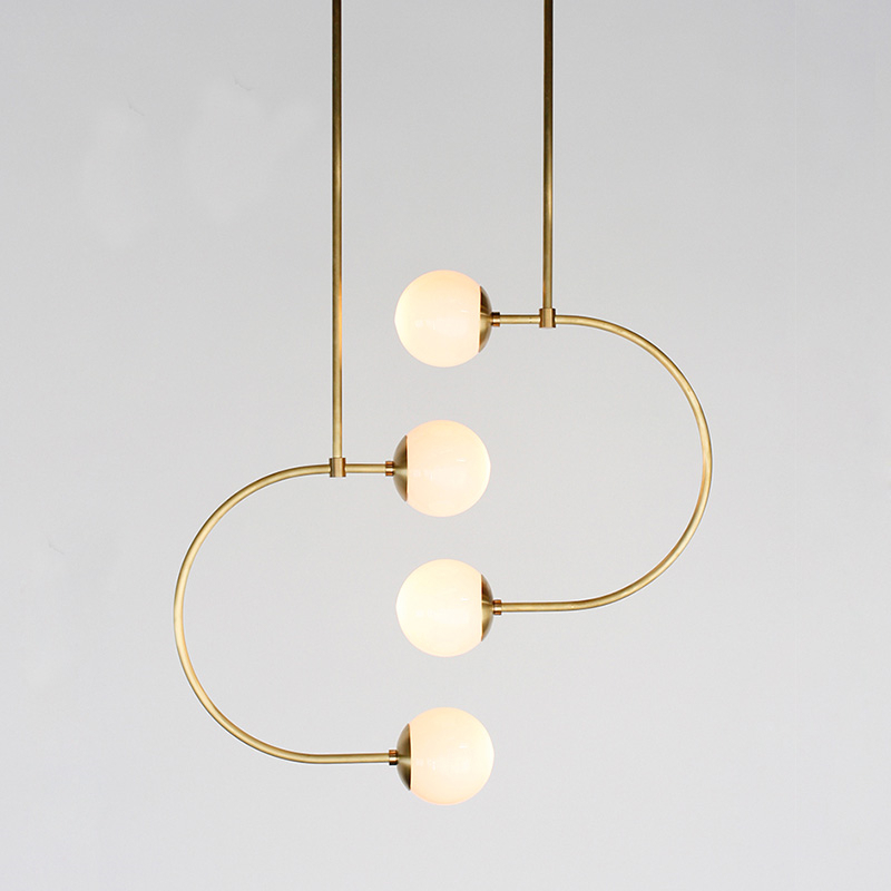 Modern LED Pendant Lights Nordic Lustre Globle Hanging Lamps Living Room Bedroom Kitchen Pendant Lamp Home Decor Light Fixtures