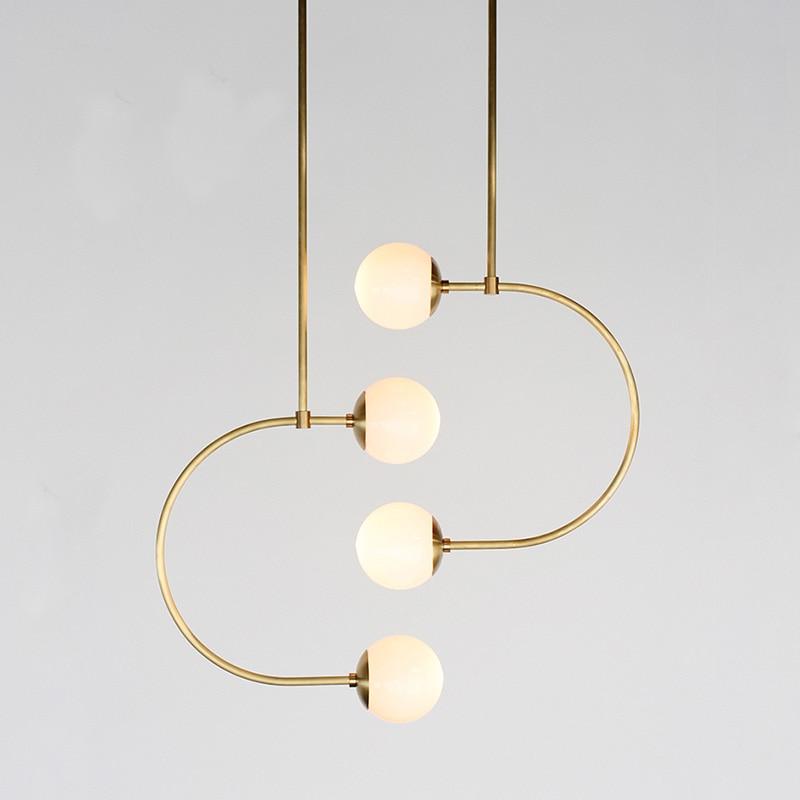 Modern LED Pendant Lights Nordic Lustre Globle Hanging Lamps Living Room Bedroom Kitchen Pendant Lamp Home Decor Light Fixtures