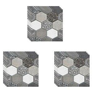 12 шт. настенная плитка наклейка для дома ванной кухни кирпич 3D Настенный Декор стикер s плитка художественное украшение стены