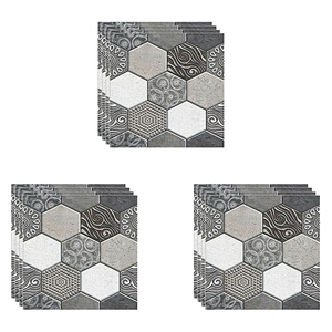 12 Pcs Wall Tile Sticker Home