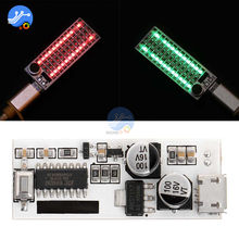 2*17/2*13 Mini USB Music Audio Spectrum Indicator Volume Level Control LED Display Module High Sensitivity Adjustable(China)