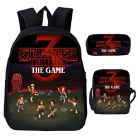 Cute Kids New Arrivals stranger things Backpack Casual Back to School Bags for Boys and Girls Children Mochila Gift