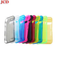 JCD Soft Silicone Shockproof Protective Skin Wrap Case Cover with Thin Screen Protector Film for Nintend Switch