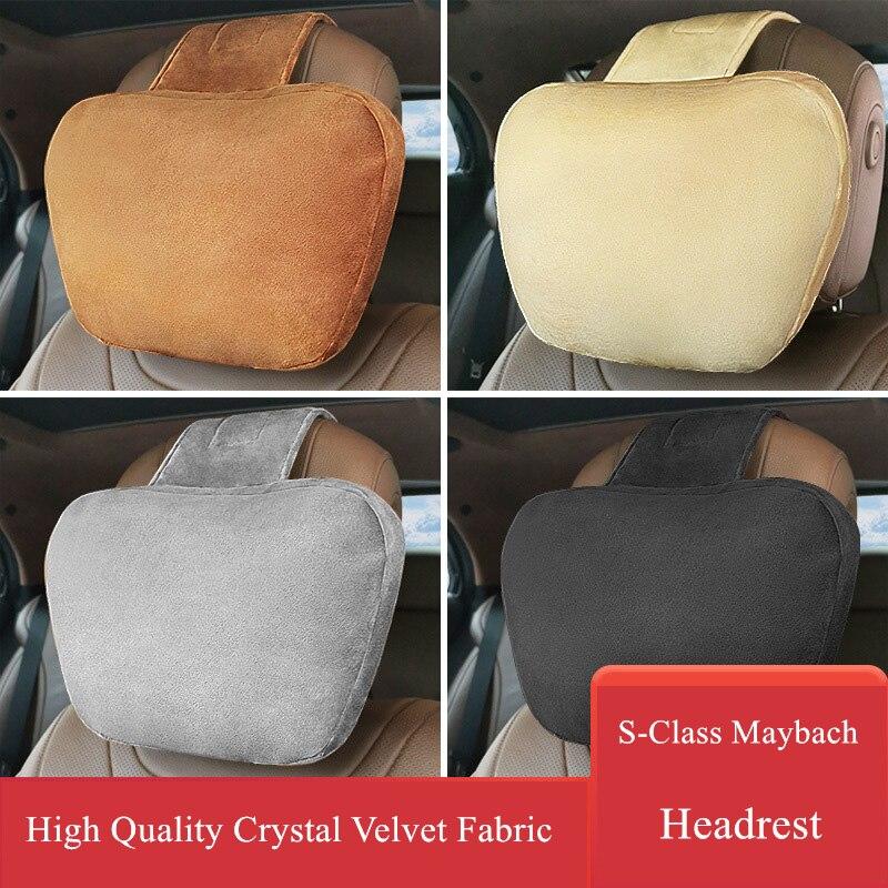 carro encosto de cabeca e pescoco travesseiro sao adequados para todos os tipos de modelos confortavel