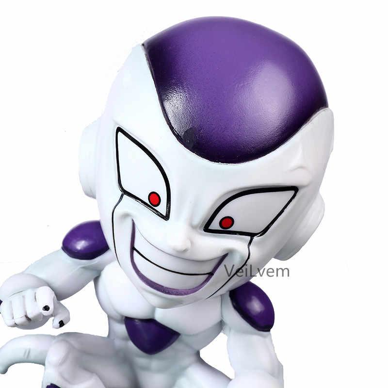 2 em 1 Freeza Dragon Ball Z Majin Buu Majin Boo frieza figura de ação PVC brinquedos boneca coleção anime dos desenhos animados modelo