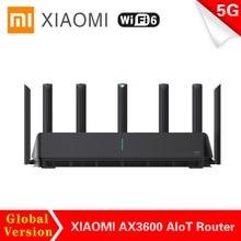 Xiaomi AX3600 AIoT Router WPA3 Security Encryption 2976 Mbs Gigabit Rate Wifi 6 Dual-Band Mesh WIFI External Signal Amplifier