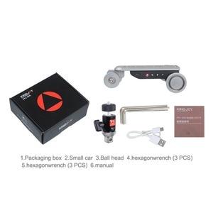 Image 2 - KINGJOY PPL 06S 카메라 슬라이더 Dolly Car Rail Systems 시간 경과 카메라 폰 캠코더 Dslr 용 전동 돌리 카